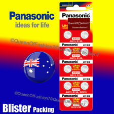 Panasonic LR-44/2B5C Batteries - Pack of 10