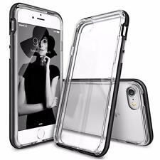 For iPhone 7 / 7Plus Crystal Clear PC Back TPU Bumper Drop Protection Cover Case