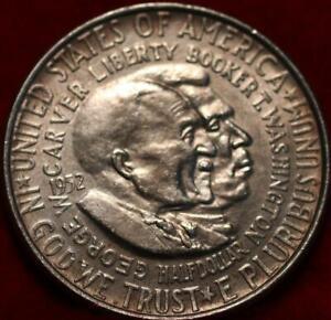 1952 Philadelphia Mint Washington/Carver Silver Comm Half