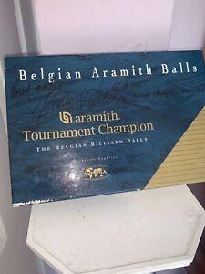 Set Of Signed  Ronnie O Sullivan Aramith Tournament Champion Snooker Balls
