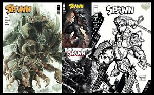 Spawn 319 A-D includes 1:5 Variant Set FREE SHIPPING McFarlane Image Comics