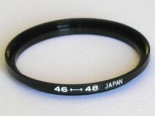 STEP UP ADAPTER 46MM-48MM STEPPING RING 46MM TO 48MM 46-48 FILTER ADAPTER