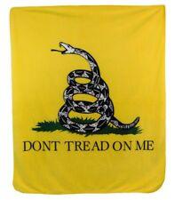 Don't Tread on Me Blanket Gadsden Blanket Political Conservative Republican