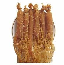 500g original Asian Red Korean Ginseng Whole Root Pieces  Red Panax Roots 18oz