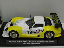 Fly 88102 slot car Marcos LM 600 Brands Hatch bgtc 2002 m.1:32