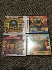 Professor Layton Nintendo 3DS DS Game Lot All CIB TESTED!!