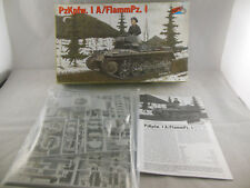 HiPM 35-001 PzKpfw 1 A /FlammPZ.1 Light Tank 1:35 scale Unmade Complete & Bagged