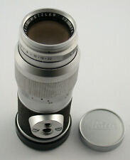 LEICA Elmar-M 4/135 135 135mm F4 4 chrom chrome adaptable A7 NEX MFT
