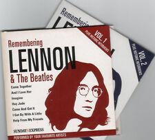 REMEMBERING LENNON & THE BEATLES: 2 CD SET - BOBBY WOMACK, SHIRLEY BASSEY ETC