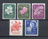 28194) Dealer Stock Norfolk Island 1966 MNH Def. 5v Not Complete (X10 Sets)