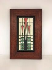 Motawi Frank Thomas House Art Tile Family Woodworks Oak Park Arts & Crafts Frame