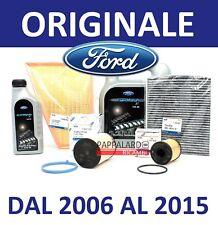 KIT TAGLIANDO FILTRI ORIGINALI + 6 LITRI OLIO FORD S MAX GALAXY 2.0 TDCI