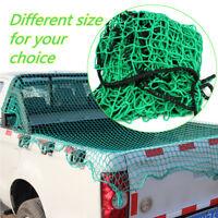 Various Size Heavy Cargo Net Pickup Truck Trailer Car Dumpster Mesh Extend Cover
