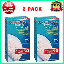 AquaClear Biomax Replacement Filter Media for Aquariums up to 50 Gallons 2-Pack