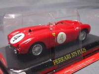 Ferrari Collection 375 PLUS 1/43 Scale Box Mini Car Display Diecast vol 61