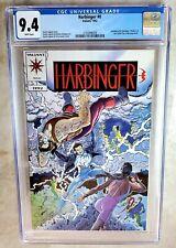 Harbinger #0 Valiant Comics 1992 CGC 9.4 NM White Pages -  Comic H0183