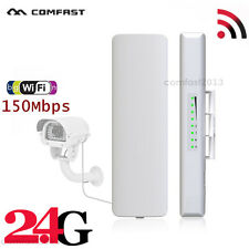 2.4GHz Outdoor Long Range Wireless Access Point CPE 150Mbps WiFi Router POE UK