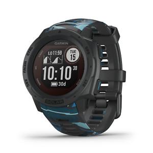 Garmin Instinct Solar Premium GPS Smartwatch Surf Edition Pipeline