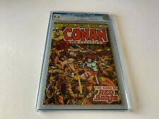 CONAN THE BARBARIAN 24 CGC 9.4 WHITE 1ST FULL APP RED SONJA MARVEL COMICS 1973