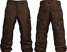 Burton Men Poacher Snowboard Pants (M) Mocha
