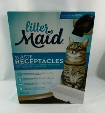 LITTER MAID WASTE RECEPTACLES SELF CLEANING LITTER BOX 3RD EDITION REFILLS 18 CT