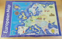 FREE POSTAGE European Map 350 piece Jigsaw Puzzle by Javelin Designs. Sealed