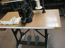 INDUSTRIAL SINGER 175-60 BAG AND CURTAIN BAR TACK SEWING MACHINE. ENGLAND.