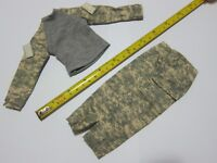 "1/6 Scale Camouflage Uniform Set For 12"" Action Figure Dolls Toys"