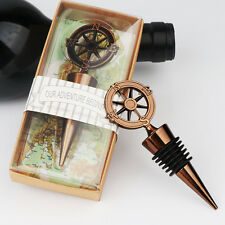 Wedding Favors Compass Wine Bottle Stopper Party Guests Gift Souvenirs Supply