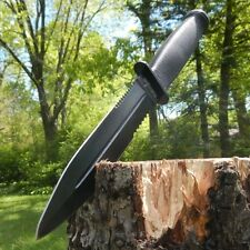 "12"" Combat Hunting Fixed Blade Tactical Knife w/ Sheath Double Edge Dagger"