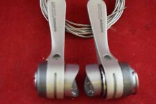 Shimano 105 sl-1056 down tube shifter lever set index/friction 8 sp braze on NOS