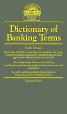 Dictionary of Banking Terms (Paperback or Softback)