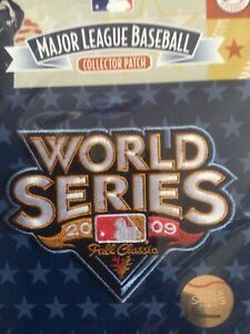 2009 MLB World Series Sleeve Jersey Patch New York Yankees Philadelphia Phillies