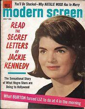 Modern Screen magazine- july 1965, Natalie Wood,Burton & Taylor