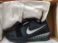 Nike romaleos 2 weightlifting powerlifting shoes W Sz 4 / M 2.5 BLACK NEW IN BOX