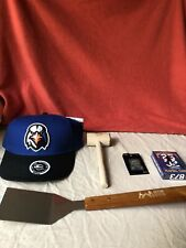Lot of 5 Aberdeen Ironbirds Items Hat Playing Cards Crab Mallet Pin Spatula