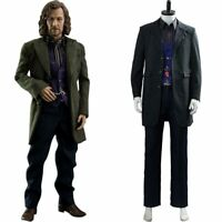 Harry Potter Cosplay Sirius Orion Black Adult Male Costume Party Halloween Suit
