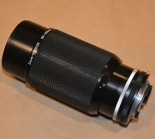Nikon Zoom-NIKKOR push-pull manual focus 80-200 mm f/4 telephoto lens 277575