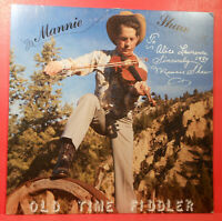 MANNIE SHAW OLD TIME FIDDLER PRIVATE PRESS AUTOGRAPHED GREAT CONDITION VG+/VG+!!
