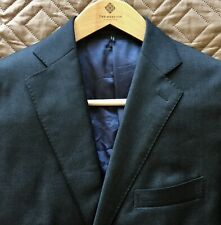 Suitsupply Blazer Sport Coat 44R Bespoke (New Condition) Lazio Full Canvas.