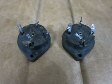 Two Western Electric 143B 4-pin tube sockets(300B.274A use)(14 available)
