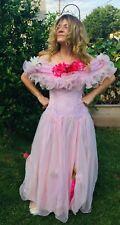 Flower Princess Fairy Costume Adult medium UNIQUE!