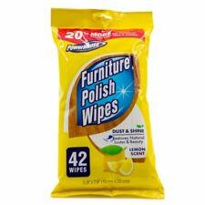 42 pack Powerhouse Furniture Polish Wipes