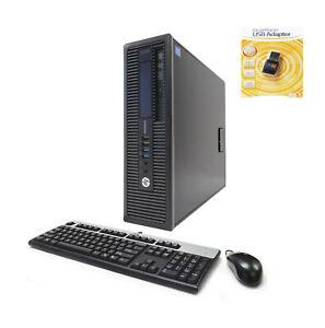 HP EliteDesk 800 G1 SFF  i7-4790 3.6GHz/4.0GHz 16GB 250GB SSD 500GB WIFI Win10