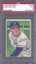 1952 Bowman #226 Alex Kellner Philadelphia Athletics PSA 5 Professionally Graded