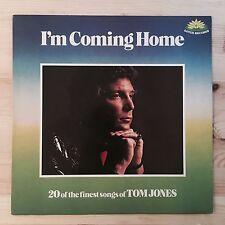 "Tom Jones I'm Coming Home 12"" Vinyl LP 1978 Lotus Records"