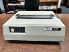 Vintage Okidata Microline u92 DOT Matrix Printer  with IBM ROMs and Tractor Feed