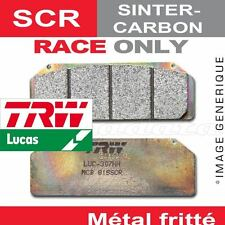 Plaquettes de frein Avant TRW Lucas MCB 721 SCR pour Derbi 659 Mulhacen 06-08