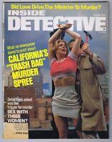 ORIGINAL Vintage October 1977 Inside Detective Magazine GGA