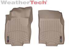 WeatherTech Floor Mats FloorLiner for Nissan Rogue - 2014-2017 - 1st Row - Tan
